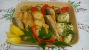 …mięsa na talerzach nie widywano zbyt często, ale ryby Warmiacy jadali na okrągło…